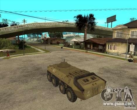 L'APC de t. s. a. l. k. e. R pour GTA San Andreas laissé vue