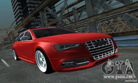Audi A6 Avant Stanced für GTA San Andreas