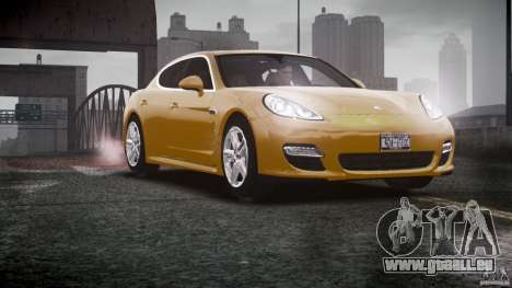 Porsche Panamera Turbo S pour GTA 4