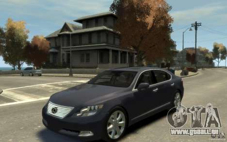 Lexus LS 600h L v1.1 pour GTA 4