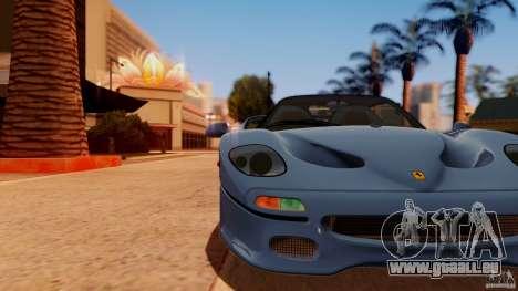 Ferrari F50 Coupe v1.0.2 pour GTA San Andreas sur la vue arrière gauche