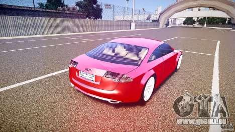 Audi Nuvollari Quattro für GTA 4 obere Ansicht