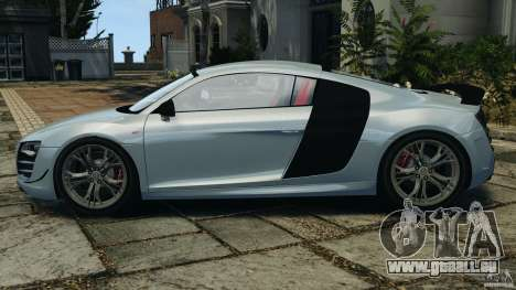 Audi R8 GT 2012 pour GTA 4 est une gauche
