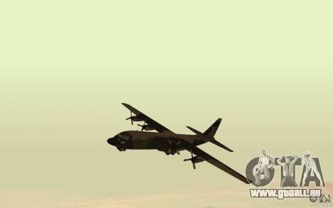 C-130 From Black Ops für GTA San Andreas linke Ansicht