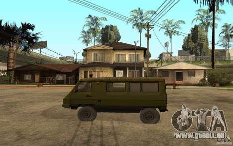 UAZ 3972 pour GTA San Andreas laissé vue