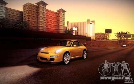 Porsche 911 GT3 (997) 2007 für GTA San Andreas Innen