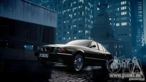 BMW M5 (E34) 1995 v1.0 für GTA 4 Innenansicht