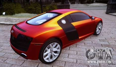 Audi R8 V10 pour GTA 4 est une gauche