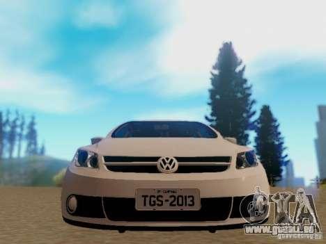 Volkswagen Voyage G5 Roda Passat CC pour GTA San Andreas sur la vue arrière gauche