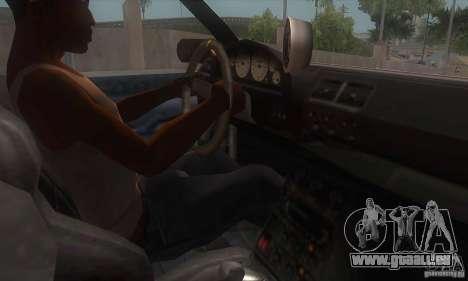 New Sultan HD für GTA San Andreas Innenansicht