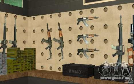 Boutique d'armes S. T. A. L. k. e. R pour GTA San Andreas neuvième écran