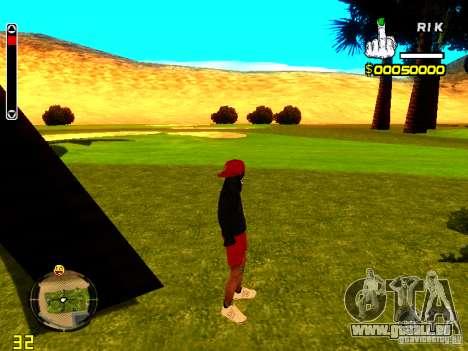 Haut-Penner-v1 für GTA San Andreas zweiten Screenshot