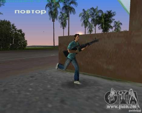 Le nouveau M-60 pour GTA Vice City le sixième écran