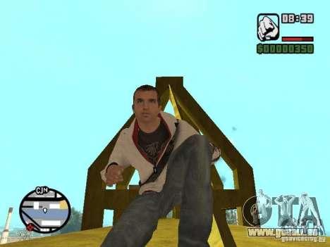 Desmond Miles pour GTA San Andreas septième écran