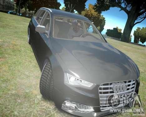 Audi A6 Avant Stanced pour GTA 4