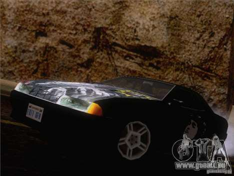 Vinyl Wiktor Zoi für GTA San Andreas Rückansicht