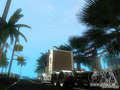 Kenworth T908 für GTA San Andreas zurück linke Ansicht