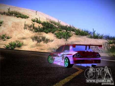 Mitsubishi Lancer Evolution 9 Hypermax für GTA San Andreas obere Ansicht