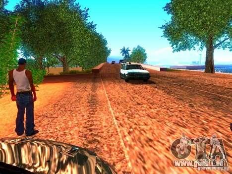 Pilotes normale sur la piste pour GTA San Andreas