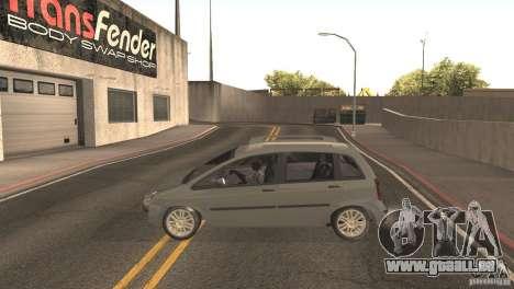 Fiat Idea HLX pour GTA San Andreas vue de droite