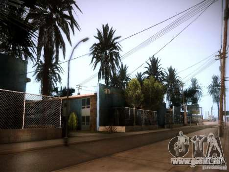 New trees HD für GTA San Andreas her Screenshot
