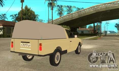 AZLK 2335 für GTA San Andreas rechten Ansicht