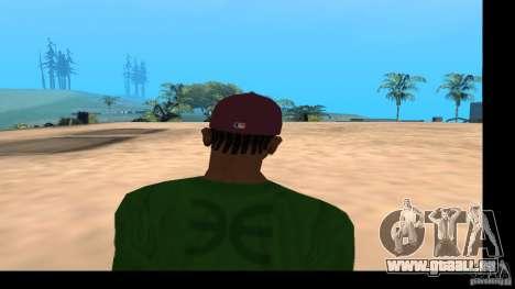 Casquette avec le logo du groupe HIM pour GTA San Andreas cinquième écran