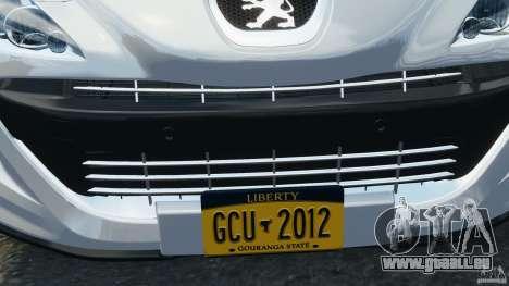 Peugeot 308 GTi 2011 v1.1 für GTA 4-Motor
