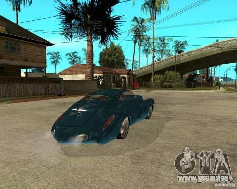 Holden Efijy pour GTA San Andreas sur la vue arrière gauche