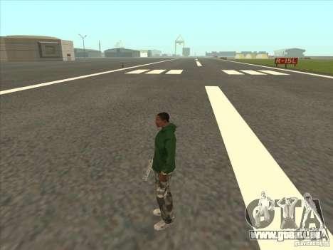 Se téléporter à un marqueur pour GTA San Andreas quatrième écran
