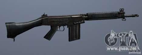 FN FAL für GTA San Andreas dritten Screenshot