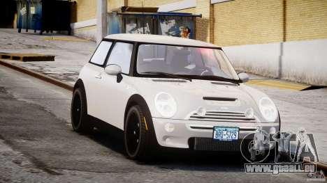 Mini Cooper S 2003 v1.2 für GTA 4 Rückansicht