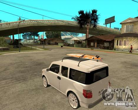 Honda Element für GTA San Andreas linke Ansicht