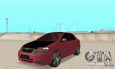 Toyota Corolla Tuning für GTA San Andreas