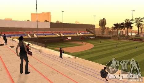 Terrain de Baseball animées pour GTA San Andreas deuxième écran