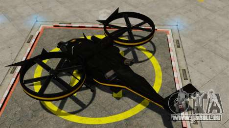 Hubschrauber mit SA-2 Samson für GTA 4 rechte Ansicht