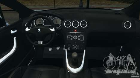 Peugeot 308 GTi 2011 v1.1 pour GTA 4 Vue arrière