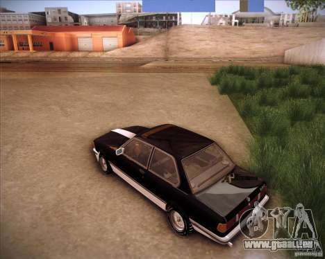 BMW E21 für GTA San Andreas zurück linke Ansicht