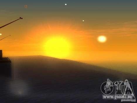 Eau HQ pour GTA San Andreas troisième écran