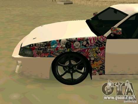 New Sultan v1.0 pour GTA San Andreas vue de droite