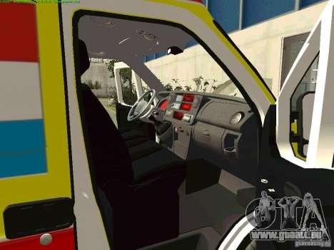 Renault Master rapide Samara pour GTA San Andreas vue de droite