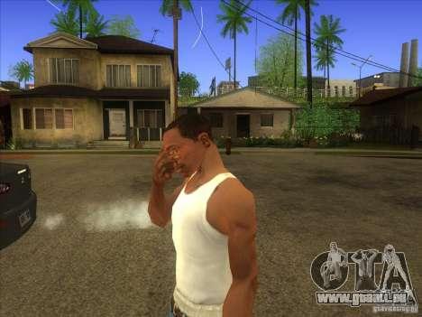 Facepalm Mod pour GTA San Andreas deuxième écran