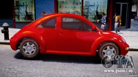 Volkswagen New Beetle 2003 pour GTA 4 Vue arrière