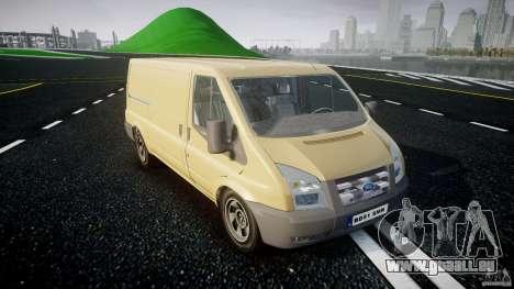 Ford Transit 2009 pour GTA 4 Vue arrière