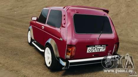 Vaz-21214 Niva (Lada 4 x 4) pour GTA 4 Vue arrière de la gauche