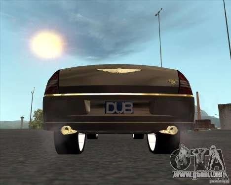 Chrysler 300C dub edition pour GTA San Andreas sur la vue arrière gauche