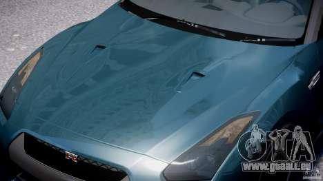 Nissan GTR R35 SpecV v1.0 für GTA 4 Innen