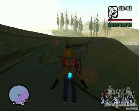 Ebisu Touge pour GTA San Andreas troisième écran