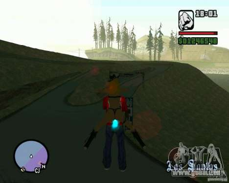 Ebisu Touge für GTA San Andreas dritten Screenshot