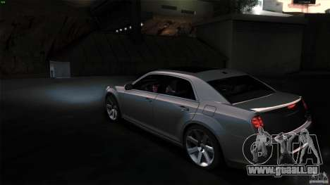Chrysler 300C V8 Hemi Sedan 2011 pour GTA San Andreas vue de droite